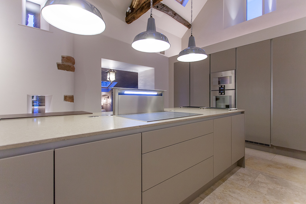 Downdraught Extractor & Gaggenau Ovens