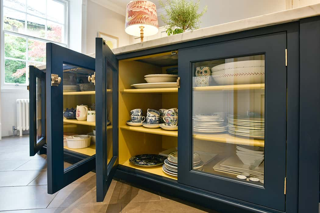 Colourful Display Cabinets